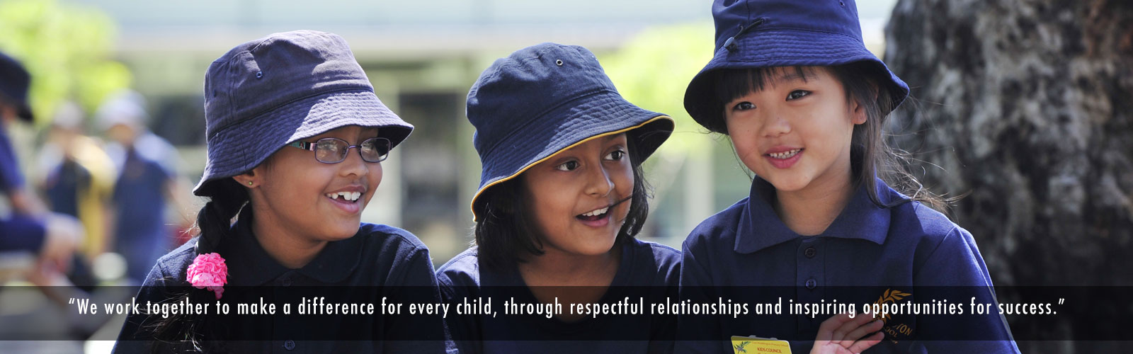 We work together to make a difference ofr every child, through respect relationships and inspiring opportunities for success